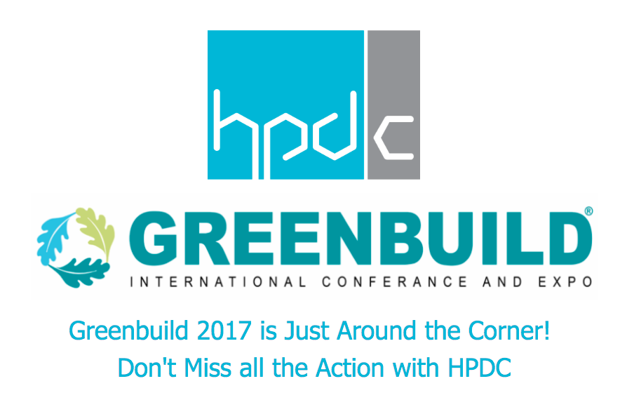 HPDC at Greenbuild 2017