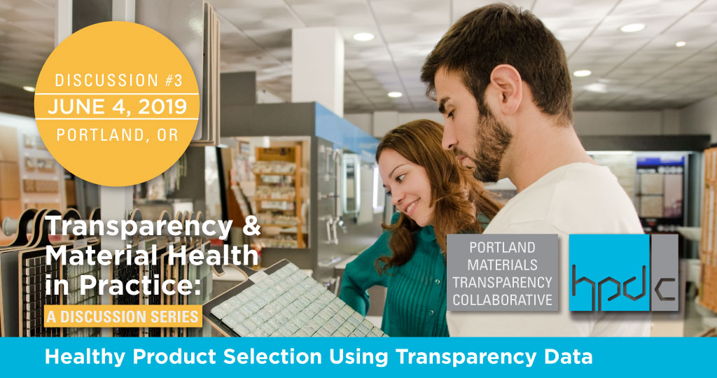 Healthy Product Selection Using Transparency Data
