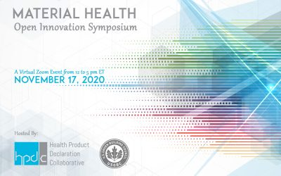 HPDC Material Health Open Innovation Symposium